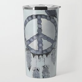 A dreamcatcher for peace Travel Mug