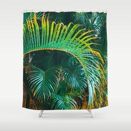 Pop Art Palms Shower Curtain