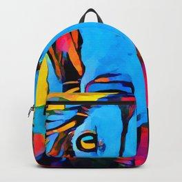 Saluki Portrait Backpack