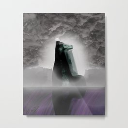 Layer of the Damned Metal Print