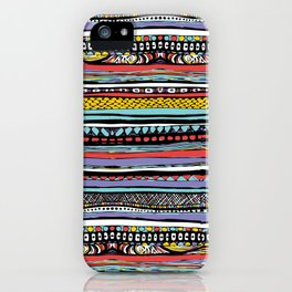 patterns of color iPhone Case