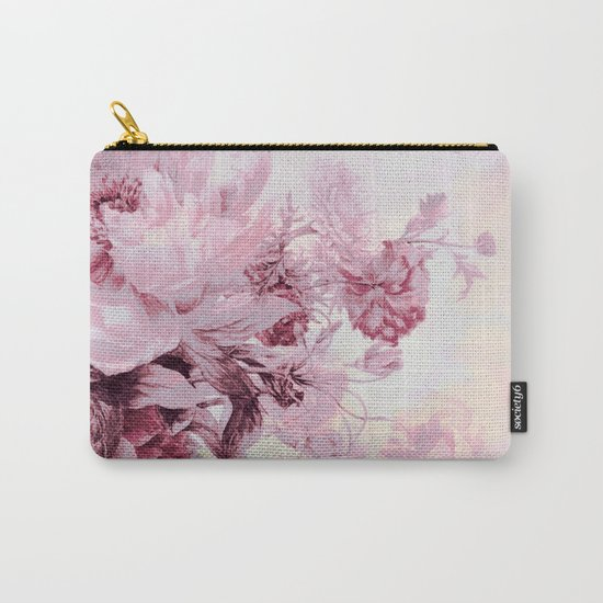 soft pink bouquet Carry-All Pouch
