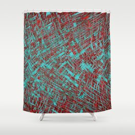 Free Flow Solo Shower Curtain