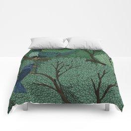 Blue Birds Comforters