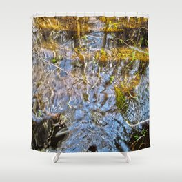 Let Me Think Shower Curtain