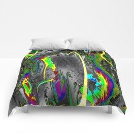 Never Ending,neon Comforters