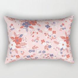 Wild Flowers III Rectangular Pillow