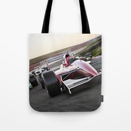 Leading the pack Tote Bag