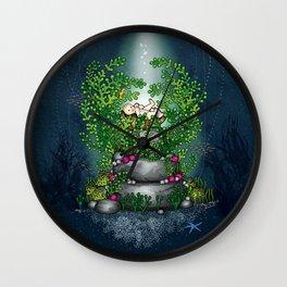 Water Baby Wall Clock