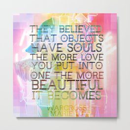 they believed v2 - warcross Metal Print