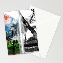 Parallel Worlds Stationery Cards
