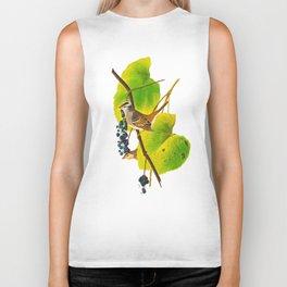 White-crowned Sparrow Bird Biker Tank