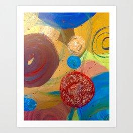 Bubble.Pop Art Print