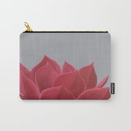 Red Succulent Carry-All Pouch