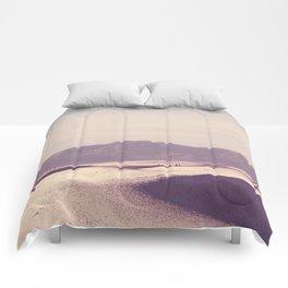 White Sand Dunes Comforters