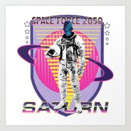 Space Force America Art Print