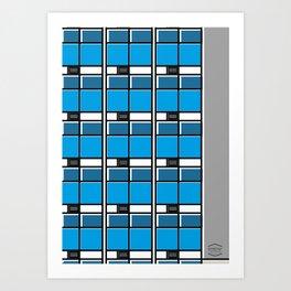 Edificio EASO -Detail- Art Print