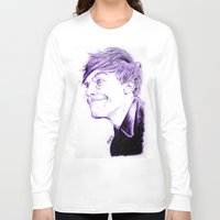 louis tomlinson Long Sleeve T-shirts featuring Louis Tomlinson by Drawpassionn
