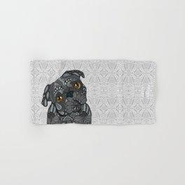 Black Pug 2016 Hand & Bath Towel