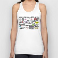 edm Tank Tops featuring Edm favourites by Antekswerve