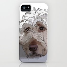 Shaggy Dog iPhone Case