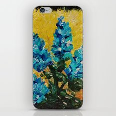 SHADES OF BLOOM - Stunning Floral Abstract Modern Home Decor Hyacinths Bright Bold Color Garden 2012 iPhone & iPod Skin