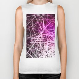 Stacked Boxes3-Purple Biker Tank