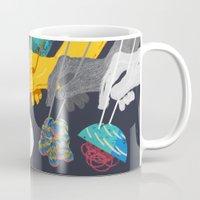 ramen Mugs featuring Top Ramen by Nick Iluzada