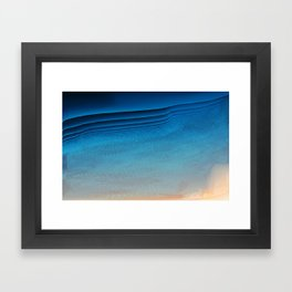 Was Clouds Framed Art Print