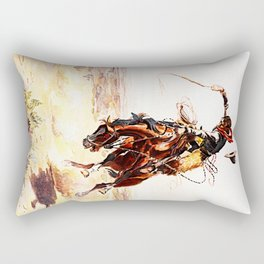 A Bad Hoss Rectangular Pillow