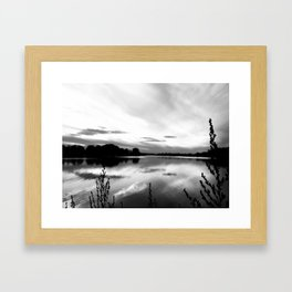 Obear Park - B&W Framed Art Print