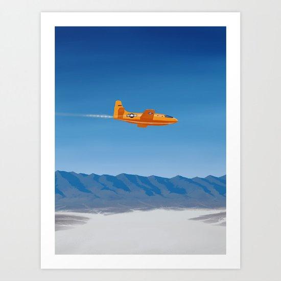 Bell X-1 Art Print