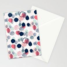 Orly - abstract painting minimal trendy girly gender neutral pattern decor Stationery Cards