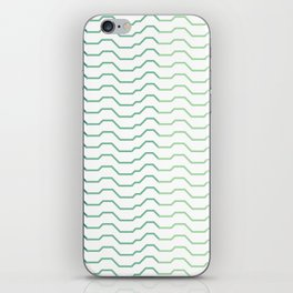 Ombre Waves iPhone Skin