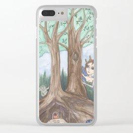 Faeries Clear iPhone Case