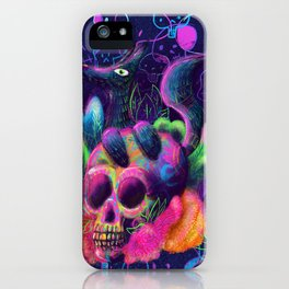Dia de Muertos iPhone Case