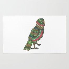 Mandala Kea from NZ Bird Collection Rug