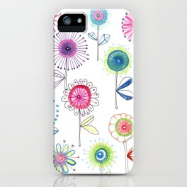 Flowers for the Soul iPhone Case