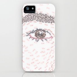 Ants by Lars Furtwaengler | Colored Pencil | 2011 iPhone Case