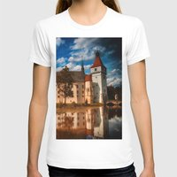 castle in the sky T-shirts featuring Castle by DistinctyDesign