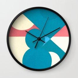 Frederick Hammersley 3 Wall Clock
