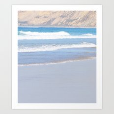 Rolling Waves 6 Vertical Art Print