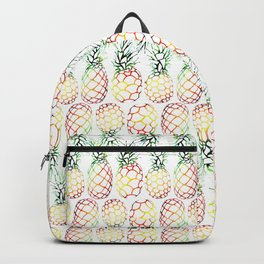 Retro Pineapples Backpack
