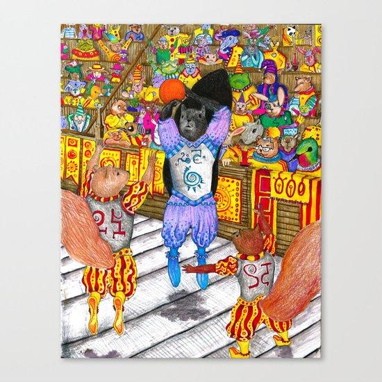 Norbel Semaj Canvas Print
