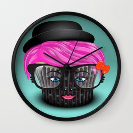 Lil' Poison Cupcake Wall Clock