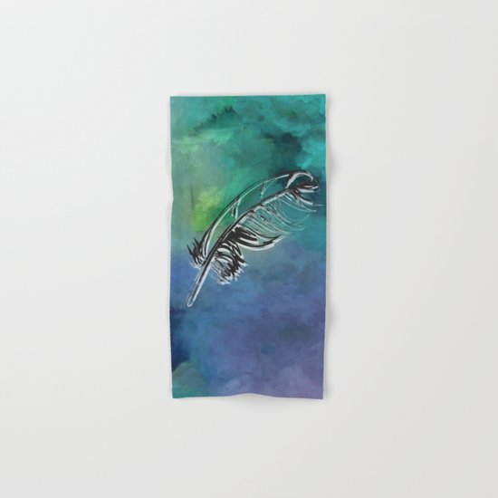 Flying Feather Hand & Bath Towel