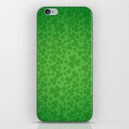 irish, ireland, shamrock, irish gifts women, luck of the irish, irish gift, three leaf clover iPhone Skin