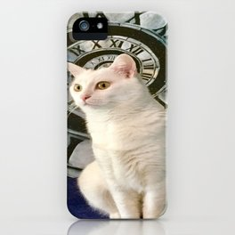 The mysterious kitty Tyche iPhone Case
