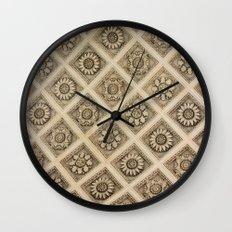 Sunflower Arch Wall Clock
