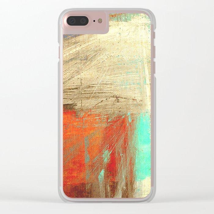 老人と山 (old man and the mountain) Clear iPhone Case